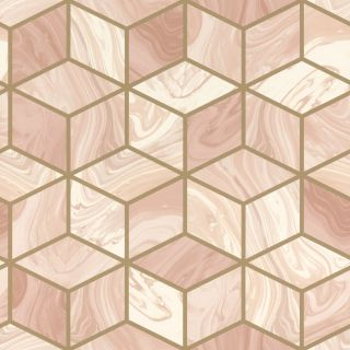 Marble Squares - Blush 248951