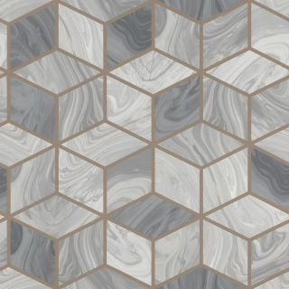 Marble Squares - Grey 248975