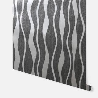Metallic Wave Black/Silver 292802