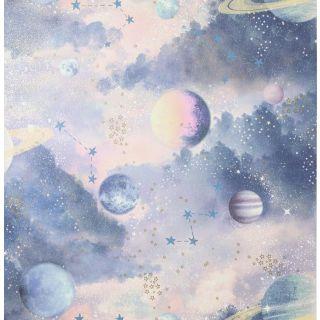 Glitter Planets Pink Multi 292900
