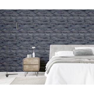 Sahara Texture Wallpaper Denim Blue Arthouse 297700