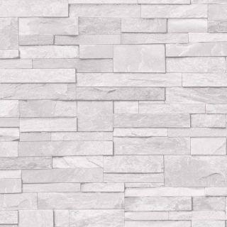 3D Slate Stone Brick Effect Wallpaper Washable Vinyl - A17201