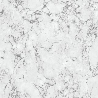 Debona Athena Marble White Wallpaper - Plain Marble 4021