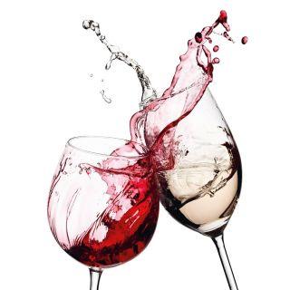 Wine Glasses, Kitchen Theme 5425-4