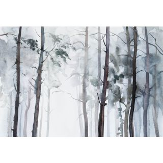 Water Colour Forest Nature Theme 5455 - 8