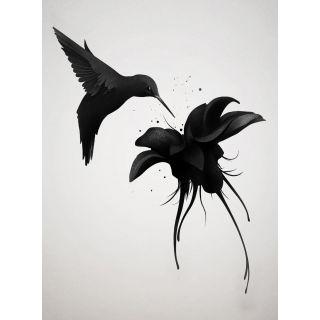 Ireland  Humming Bird Flowers & Animal Theme 5467-4