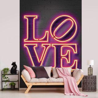 Mielu Neon Tube Love Typography Theme 5481-4