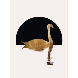 Kubstika Golden Swan Lake Animal Theme 5531-4