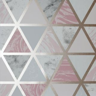 Marble Geo Pink Multi 692205