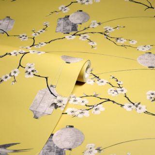 Chinese Garden Yellow 695401