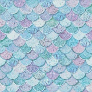 Mermazing Scales Ice Blue 698305