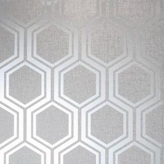 Luxe Hexagon Silver 910206