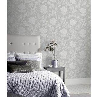 Calico Floral Grey 921100