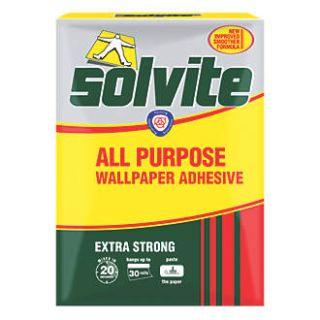Solvite Extra Strong All Purpose Wallpaper Adhesive 30 Rolls
