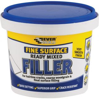 Everbuild Fine Surface Filler Ready Mix 600 g