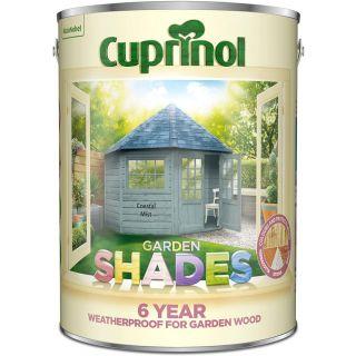 Cuprinol Garden Shades Paint - Coastal Mist 5L