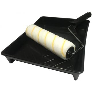 Rollroy Paint Roller & Tray Set - DIY Painting and Decorating Kit 9 inch