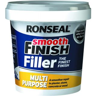 Ronseal 36547 Smooth Finish Filler Multi-Purpose Ready Mixed 2.2kg