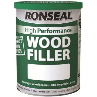 Ronseal High Performance Wood Filler White 1 kg