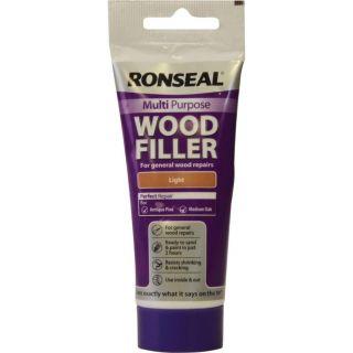 Ronseal Multi-Purpose Wood Filler Tube - Light 100g